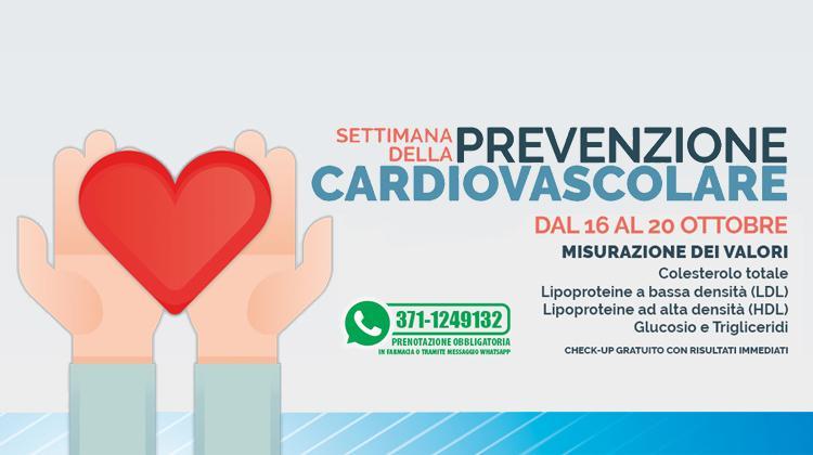 Settimana della prevenzione Cardiovascolare