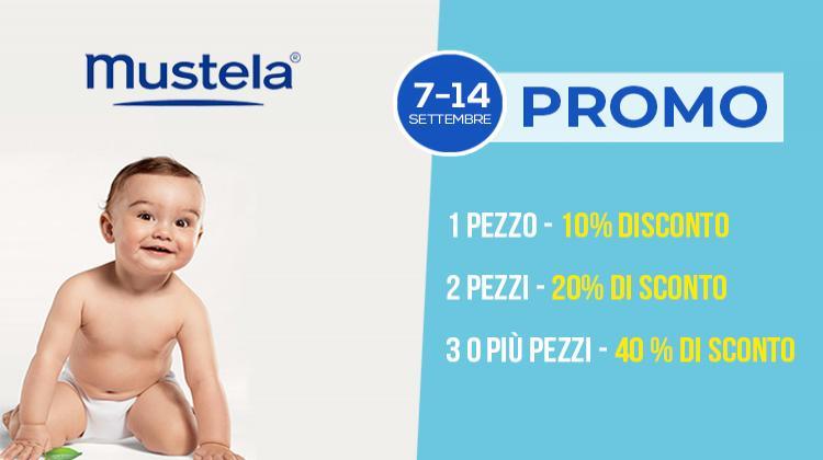 Promo prodotti per bambini Mustela
